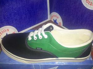 Zapatos Tipo Vans Marca Top Star Talla 42