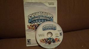 ¡click! Skylanders Spyros Adventure Wii Niños Original
