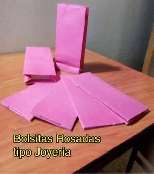 Al Mayor Bolsa De Regalo Rosada Joyería, Dulces Y