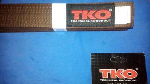 Cinturon De Karate Marron (importado Talla 5)