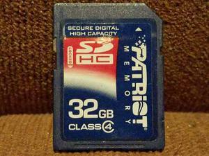 Click! Memoria Sd Hc 32 Gb Patriot Clase 4