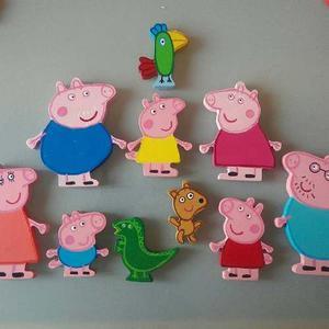 Figuras De Peppa Pig En Mdf