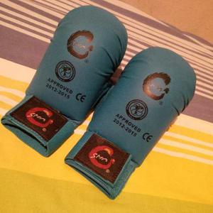 Guantes De Karate Do Smai Approved Pkf Con Pulgar Talla S