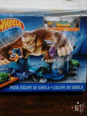 Hot whells pista escape de gorila