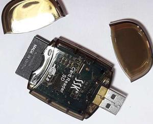 Lector Memorias Sd Micro Usb