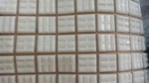 Mallas Decorativas Blancas 30x30