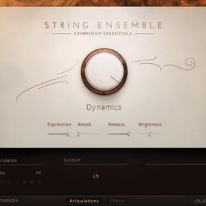 Native Symphony Essentials String Ensemble + Kontakt 5