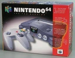 Nintendo 64 + Dos Controles + 1 Juego De Pokemon Bs