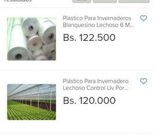 Plastico para Invernaderos