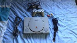 Playstation 1 Chipeado + Control + Memory Card - Original