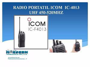 Radio Portátil Icom Ic- Uhf mhz