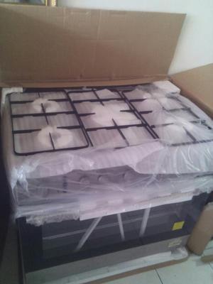 Tope de cocina electrica de cinco hornillas posot class for Cocina 02 hornillas