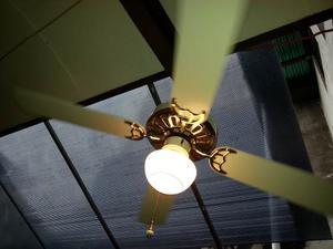 Ventilador de techo con luz posot class - Lamparas de ventilador ...