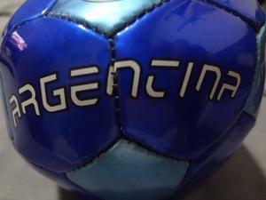 Mini Balon Futbol Decoracion / Usar De Argentina Coleccion