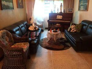 Vendo Sofa En Semi Cuero