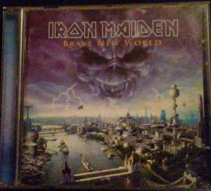Cd Iron Maiden A Brave New World