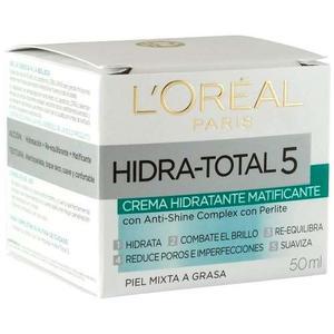 Loreal Hidratotal 5 Matificante Crema Hidratante Original