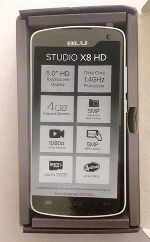 Se vende Blu Studio X8 Hd