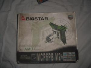 Tarjeta Madre Biostar Mcp6pb M2+ Amd Ddr2 Reparar O Repuesto