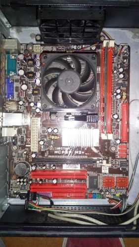 Tarjeta Madre Con Procesador Dual Core Y 2gb De Ram