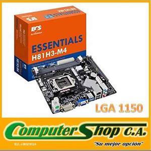 Tarjeta Madre / Essentials / H81h3-m4 / Socket Lga