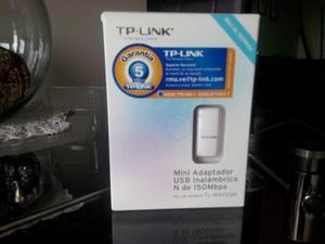 Adaptador Usb Inalambrico N De 150 Mbps Tp-link