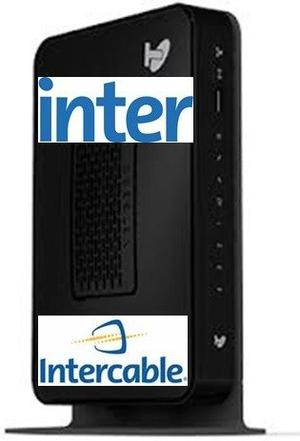 Cable Modem Router Intercable Netgear Cg Wifi Inter
