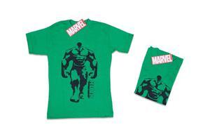 Franelas De Niño Talla 2 Color Verde Modelo 004 Hulk