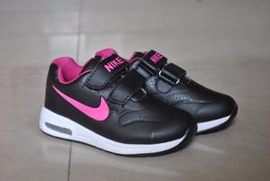 Kp3 Zapatos Nike Cierre Magico Para Niñas Del 25 Al 35