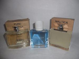 Lote De 3 Perfumes Nautica Originales Oferta