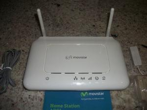 Módem Router Movistar Asl- Nuevo Homestation Adsl