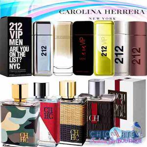 Perfume Ch 212 Vip Men Carolina Herrera Caballeros Hombres