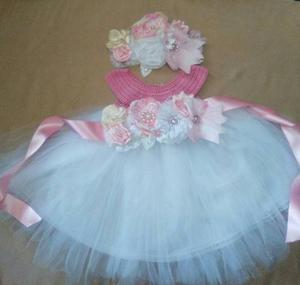 Vestido De Niña Para Bautizo,cumpleaños O Evento Especial