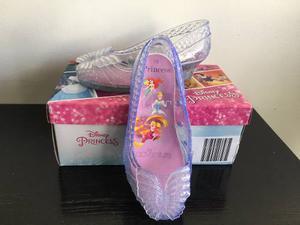 Zapatillas Princess Disney Cenicienta Con Luces