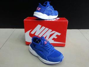 Zapatos Nike Huarache Para Niños Niñas 25 Al 35