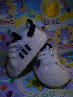 Zapatos Para Bebe Tejidos