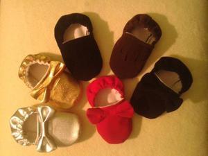Zapatos Para Bebes Dorados Y Plateados Y Casuales