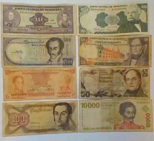 Coleccion Billetes Antiguos