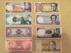 Lote Completo De Billetes (731 Billetes) Y Monedas 50 Kilos
