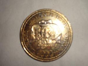 Moneda De  Morocotas La Novia Ilva
