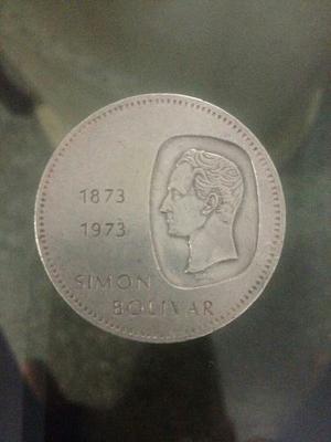 Moneda De Plata De 10 Bolivares Doblon
