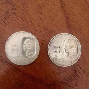 Moneda Doblon De Plata