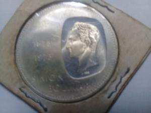 Moneda Doblon Plata Edic. Aniver. En Paqu.original Nuevo