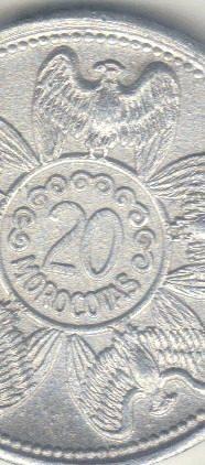 Moneda O Ficha 20 Morocotas Los Aleros