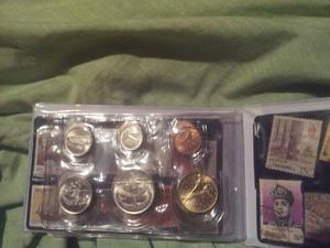 Monedas De Coleccion Sin Circular De Singapore Y Malaysia