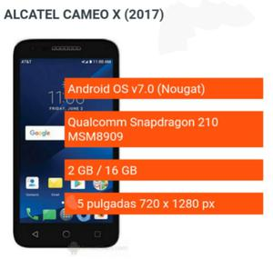Alcatel Cameox  Nuevo 16gb Internos