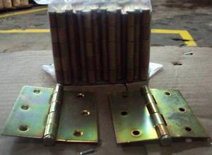 Bisagras Para Madera 3x3 21mil Par Y Paquete De 24 Unidades