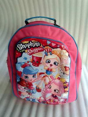 Bolso Escolar De Shopkins