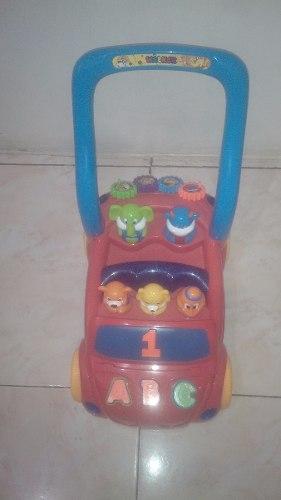 Carro Tipo Andadera Para Bebes, Con Música Y