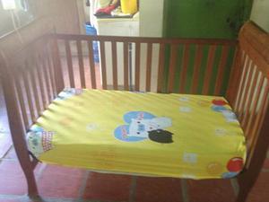 Combo Cama Cuna 3 En 1 Anabella Importa Y Coche Cute Babies